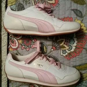 Retro vintage Puma commander sneakers